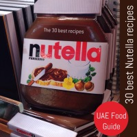 Nutella recipe book now at Virgin Megastore Dubai