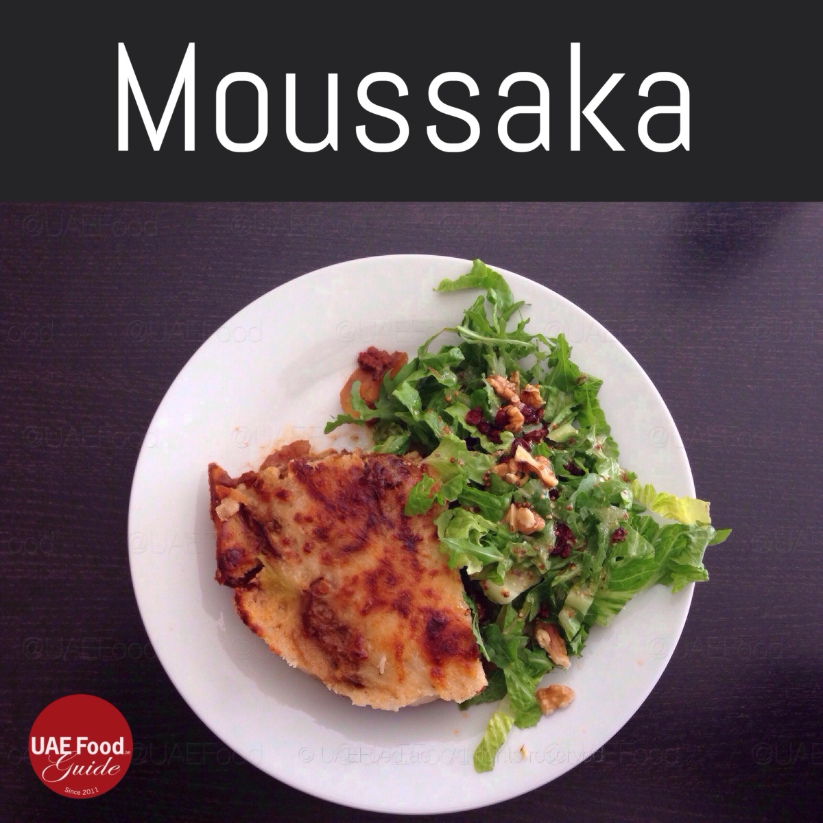 Best Moussaka in Dubai